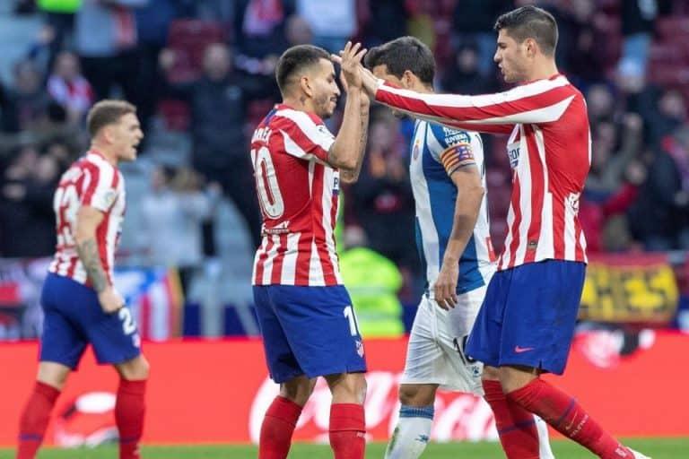 Gilas Espanyol, Atletico Kunci Posisi Ketiga