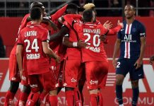 Hasil Liga Prancis PSG Tumbang 1-2 dari Tim Juru Kunci