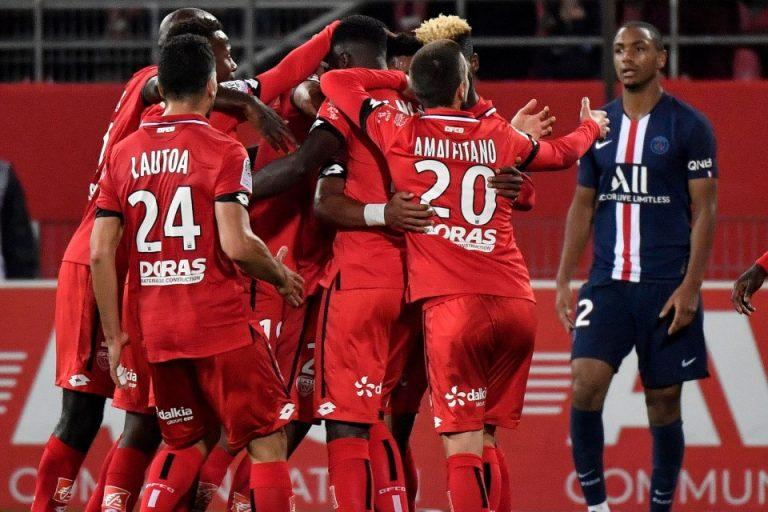 Hasil Liga Prancis: PSG Tumbang 1-2 dari Tim Juru Kunci