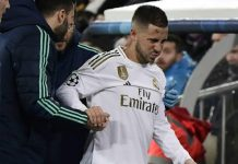 Cederanya Tak Parah, Hazard Siap Mentas di El Classico?