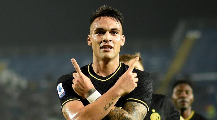 Inter Milan Lautaro Martinez