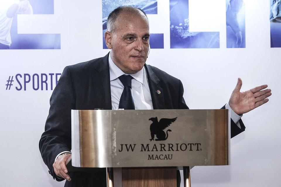 Javier Tebas Presiden La Liga