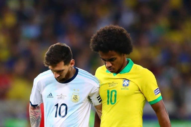 Jelang Laga Kontra Argentina, Willian: Brasil Fokus Saja Redam Messi