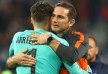 Kiper Chelsea Beruntung Bisa Dilatih Lampard