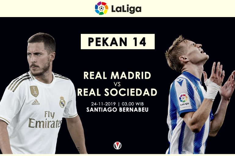 Prediksi Madrid vs Sociedad: Zidane Targetkan Ini Untuk Anak Asuhnya