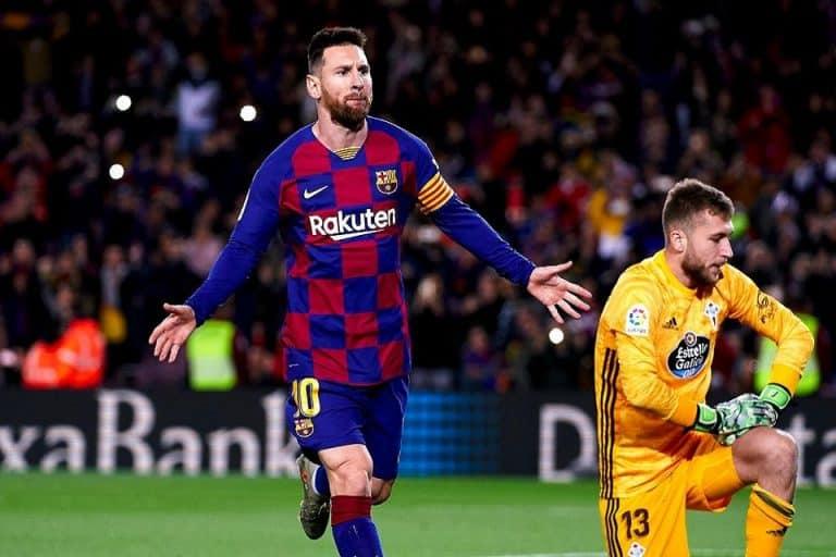 Hattrick Unik Messi Menangkan Barca 4-1 Atas Celta