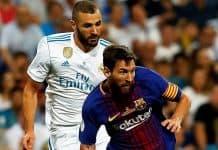 Lionel Messi dan Karim Benzema