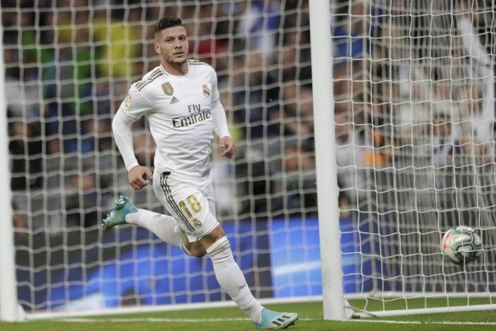 Luka Jovic Akhirnya Cetak Gol, Zidane Beri Kalimat Motivasi!