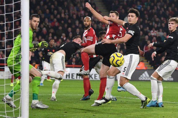 MU Dipaksa Berbagi Angka Oleh Sheffield United