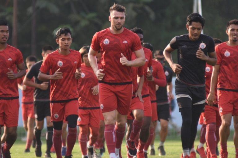 Jelang Laga Perdana Liga 1 2020, Persija Menggenjot Fisik Pemain