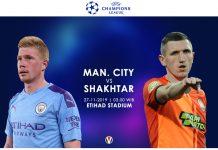 Prediksi Man City vs Shakhtar Donetsk City Patut Waspadai Keganasan Tim Tamu