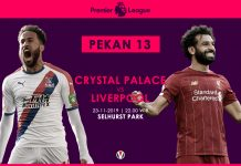 Prediksi Crystal Palace VS Liverpool: Klopp Miliki Misi di Laga Ini