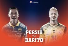 Preview Persib Bandung vs Barito Duel Beda Misi