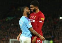 Raheem Sterling And Joe Gomez