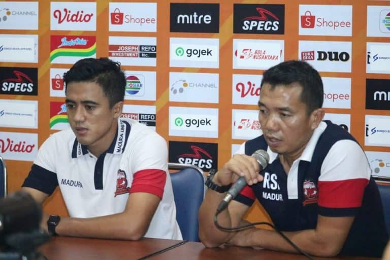Ditunjuk Jadi Manajer Tim, Pelatih Madura United Siap Rangkap Jabatan