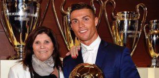 Ronaldo And Mom