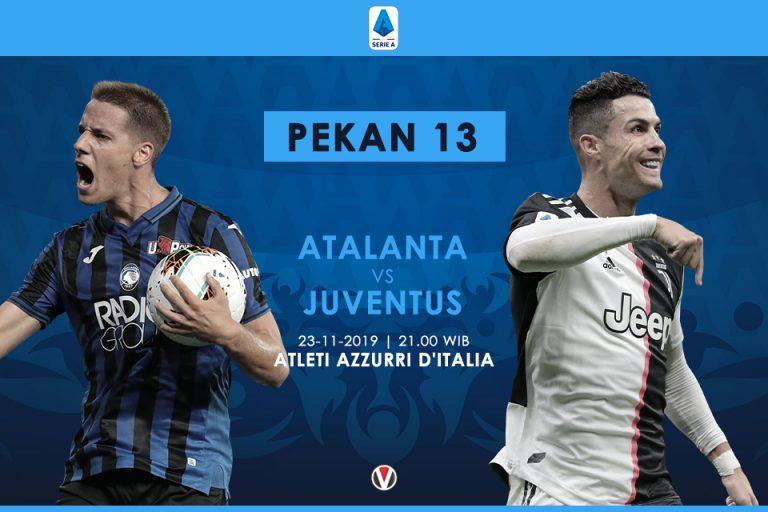 Prediksi Susunan Tim Juventus Lawan Atalanta: Ronaldo Tak Masuk dalam Skuad?