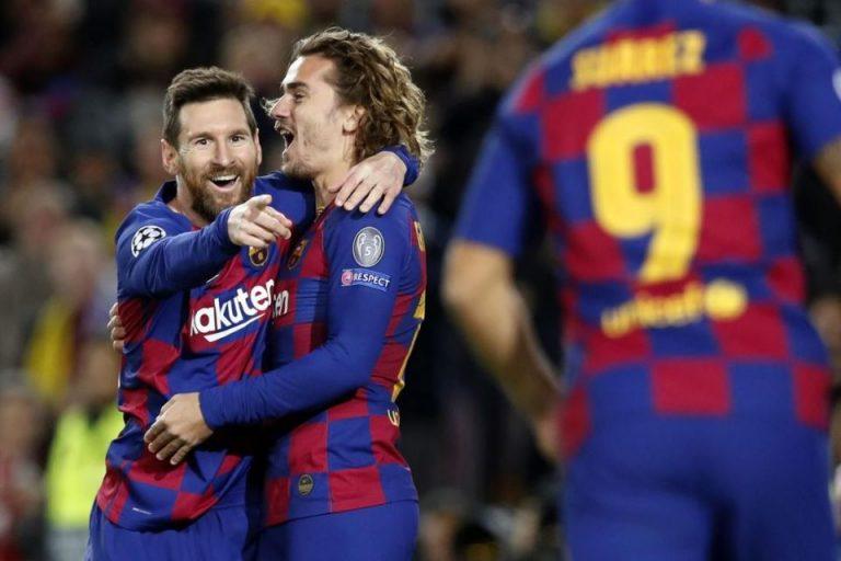 Trio MSG Cetak Gol, Barcelona Lolos 16 Besar Sebagai Juara Grup