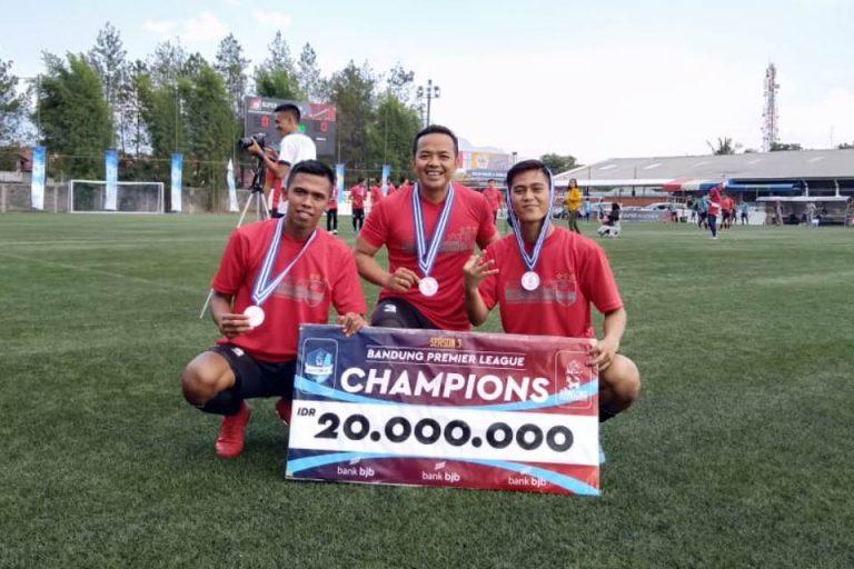 Juara Lagi, Ammers FC Luar Biasa!