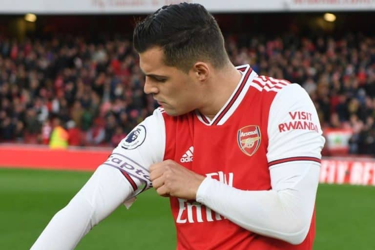 Akui Kapok, Xhaka Ingin Jadi Kapten Arsenal Lagi