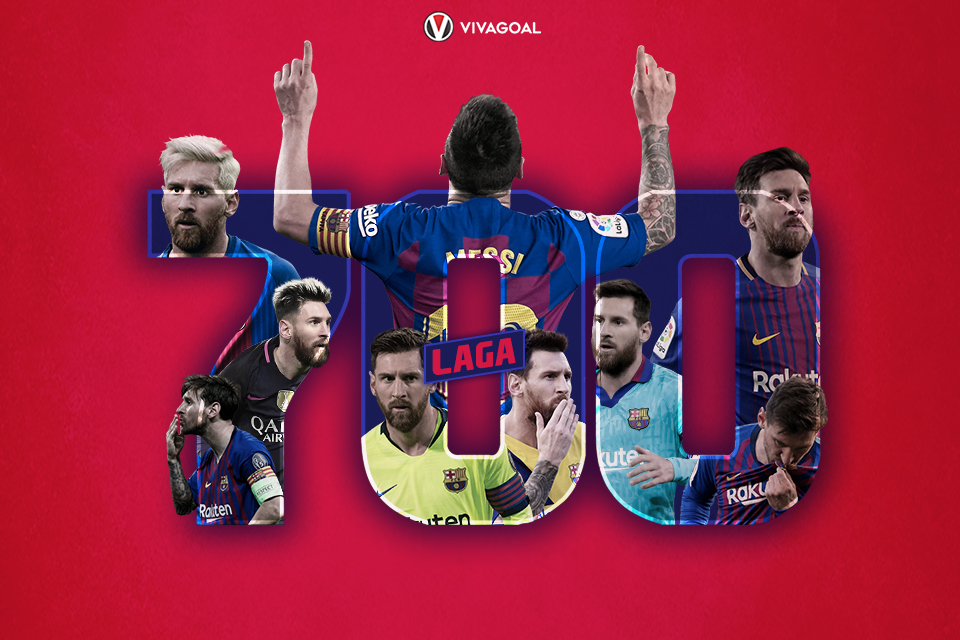 Catatan Seputar 700 Laga Messi Bersama Barcelona