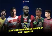 5 Klub yang Diprediksi Raih Runner-up Shopee Liga 1 Indonesia