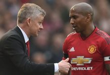 Ashley Young Solskjaer