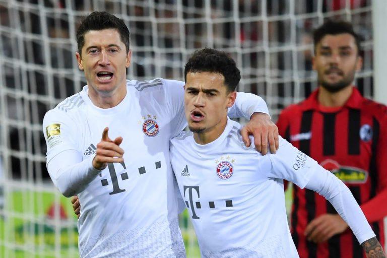 Taklukan Freiburg, Bayern Munchen Dibantu Dewi Fortuna