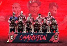 Beberapa Hal yang Membuat Bali United Pantas Menjuarai Liga 1 2019