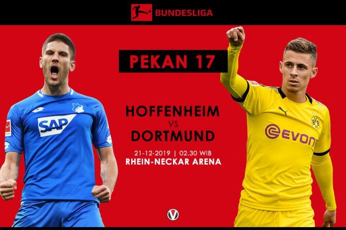 Prediksi Hoffenheim vs Dortmund: Tim Tamu Diatas Angin