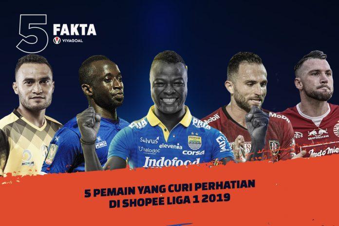 5 Pemain yang Curi Perhatian di Shopee Liga 1 2019