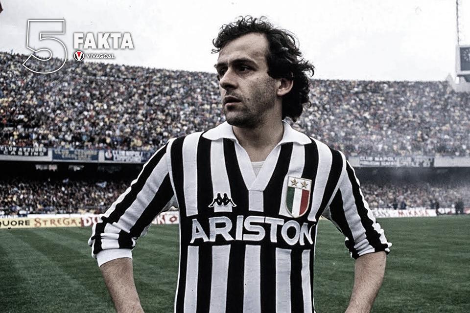 5 Fakta Michel Platini, Legenda Juventus