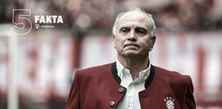 5 Fakta Uli Hoeness, Legenda Bayern Munchen