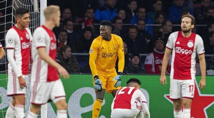 Ditinggal Dua Pemain Topnya, Ajax Gagal Total Di Liga Champions Musim Ini
