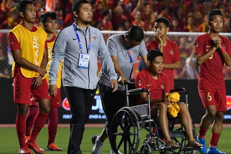 Cedera di Laga Pamungkas, Begini Kondisi Evan Dimas