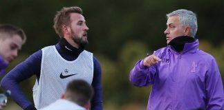 Harry Kane Jose Mourinho