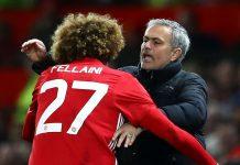 Marouane Fellaini dan Jose Mourinho