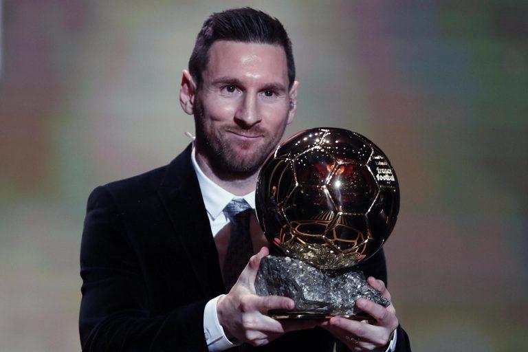 Resmi: Lionel Messi Raih Ballon d'Or 2019