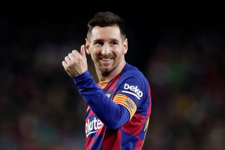 Messi, Sosok Pahlawan Barcelona