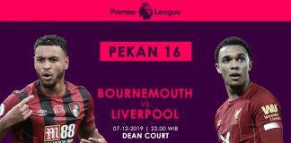 Prediksi Bournemouth Vs Liverpool Kekuatan Tim Tamu Tak Terbendung