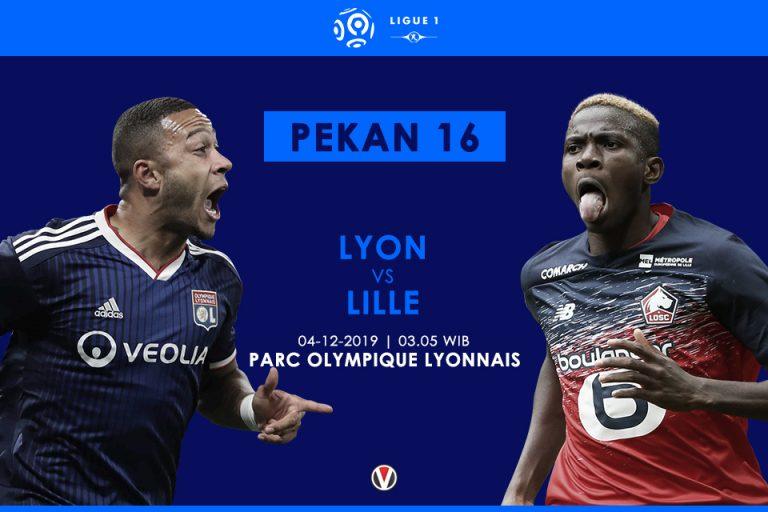 Prediksi Lyon Vs Lille: Momen Putus Tren Negatif Atas Tim Tamu