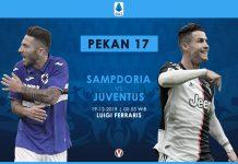 Prediksi Sampdoria Vs Juventus Ambisi Si Nyonya Tua Rebut Puncak Klasemen Serie A