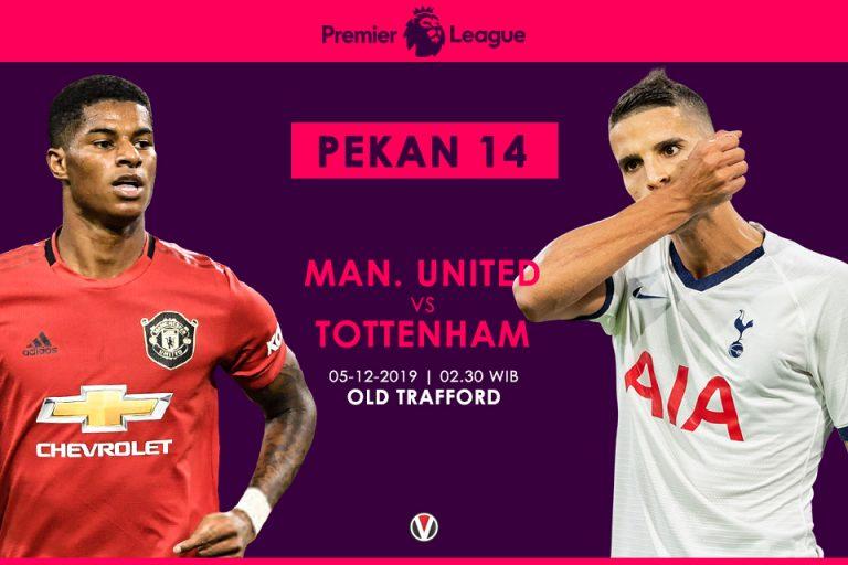 Prediksi MU Vs Tottenham: Pembuktian Jose Mourinho