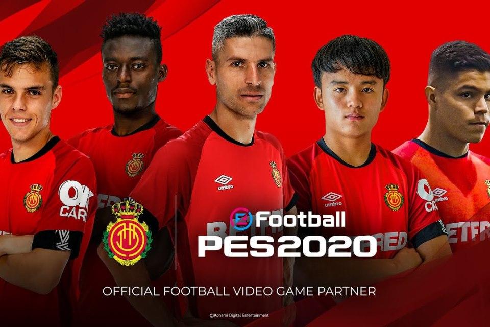 Resmi, Tim Papan Tengah LaLiga Teken Kontrak Ekslusif berama eFootball PES 2020
