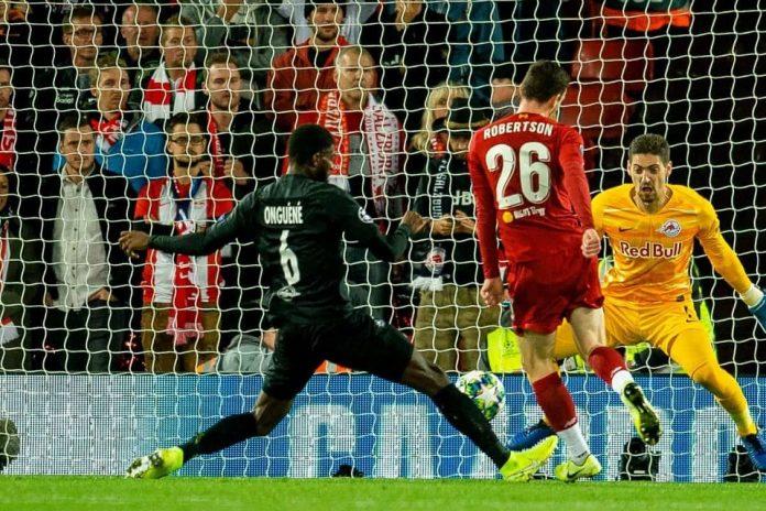 Red Bull Salzburg vs Liverpool
