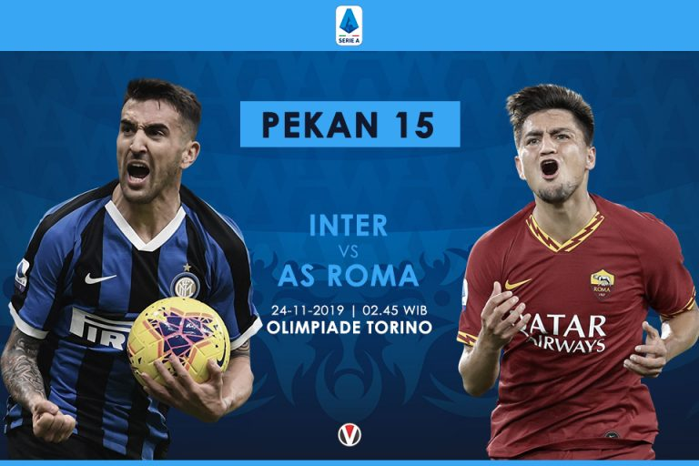 Prediksi Inter Milan Vs AS Roma: Misi Nerazurri Pertahankan Puncak Klasemen