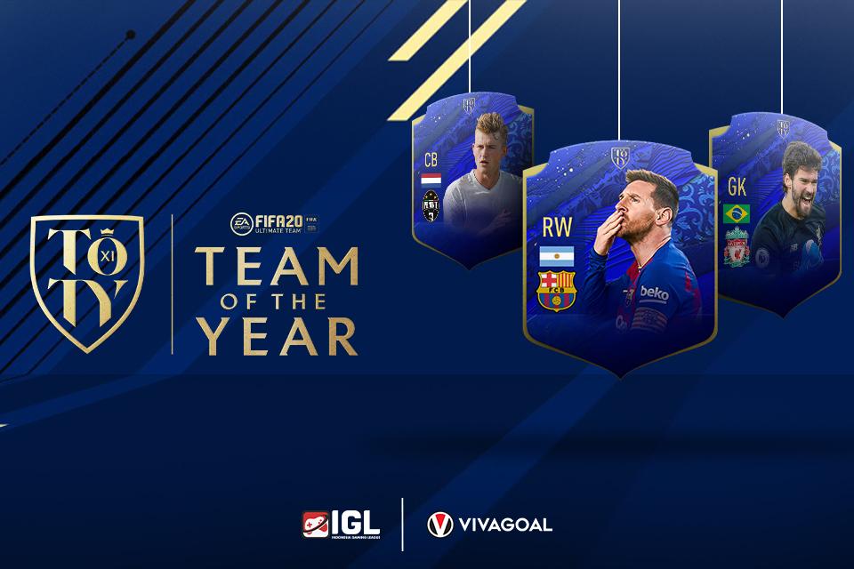Prediksi Team of the Year FIFA 20: Pemain Liverpool Mendominasi