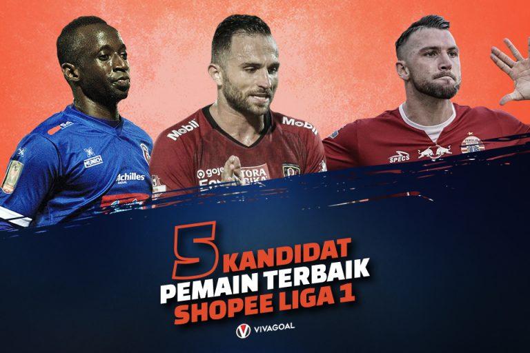 5 Kandidat Pemain Terbaik Shopee Liga 1 2019