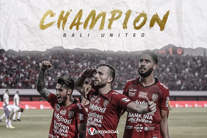 Begini Skema Perayaan Juara Bali United