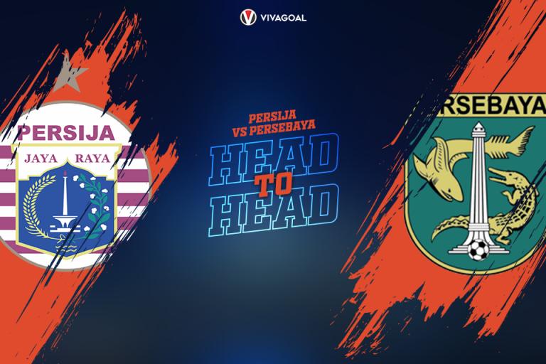 Head to Head Persija Jakarta Vs Persebaya